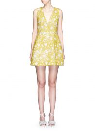 Alice and Olivia Pacey Dress at Lane Crawford
