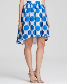 Alice and Olivia Skirt - Camille Polka Dot Pouf at Bloomingdales