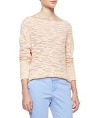 Alice and Olivia Slub Knit Sweater at Neiman Marcus