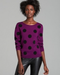 Alice and Olivia Sweater - Celyn Sequin Polka Dot at Bloomingdales