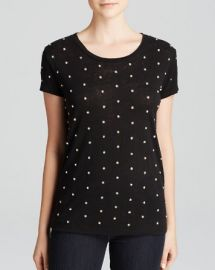 Alice and Olivia Top - Robin Embellished at Bloomingdales
