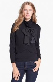 Alice and Olivia and39Addisonand39 Bow Detail Jacket at Nordstrom