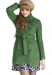 All Clover Again Coat at ModCloth