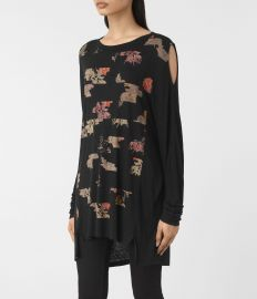 All Saints Arosa Aino Tee Usa Usa at All Saints