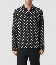 All Saints Inkblot shirt at All Saints