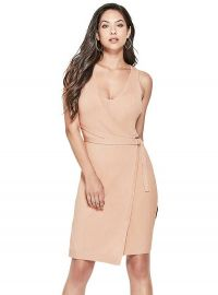 Allison Faux Wrap Sweater Dress by Guess at Guess
