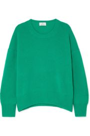 Allude   Oversized cashmere sweater at Net A Porter