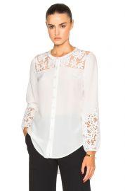 Alma blouse by Veronica Beard at Forward