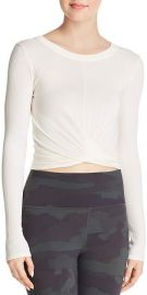 Alo Yoga Twist-Front Top at Bloomingdales