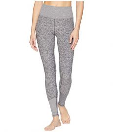 Alo Yoga High Waist Lounge Leggings in Dove Grey Heather at Zappos