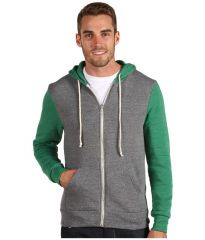 Alternative Butler Hoodie Eco GreyEco True Green at 6pm