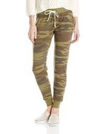 Alternative Women\\\\\\\'s Printed Eco Fleece Jogger Pant at Amazon