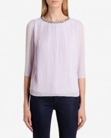 Altrr Embellished Blouse at Ted Baker