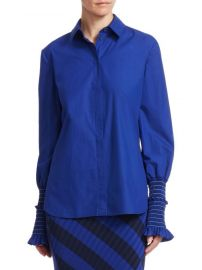 Altuzarra - Jorda Blouson Sleeve Blouse at Saks Fifth Avenue