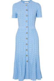 Altuzarra - Abelia ribbed-knit midi dress at Net A Porter