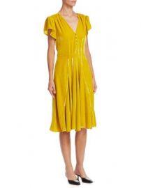 Altuzarra - Camilla Velvet Dress at Saks Fifth Avenue