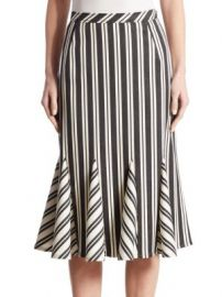 Altuzarra - Crocus Striped Godet Skirt at Saks Fifth Avenue