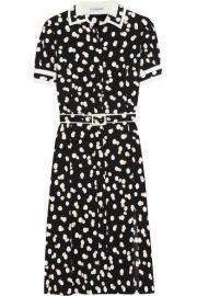Altuzarra   Ella belted fil coup   dress at Net A Porter