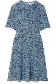 Altuzarra   Jae leopard-print silk crepe de chine dress at Net A Porter