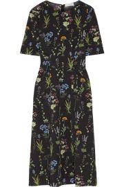 Altuzarra   Sylvia floral-print silk-georgette midi dress at Net A Porter