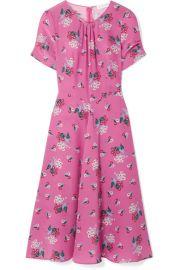 Altuzarra   Tuesday floral-print silk crepe de chine dress at Net A Porter
