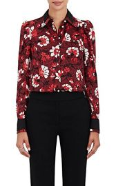 Altuzarra Marlowe Floral Silk Blouse at Barneys