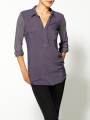 Always Shirting Pocket Tunic at Piperlime