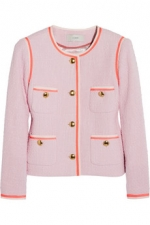 Amanda tweed jacket by J Crew at Net A Porter