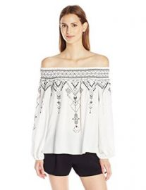 Amazon com  Parker Women  39 s Teagan Embroidered Blouse  Clothing at Amazon