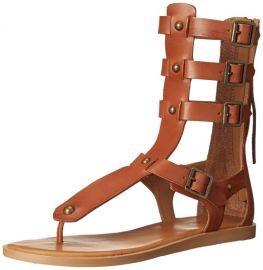 Amazoncom Aldo Womenand39s Livy-U Gladiator Sandal Shoes in Saddle at Amazon