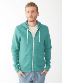 Amazoncom Alternative Menand39s Rocky Hoodie Clothing in eco true viridian at Amazon