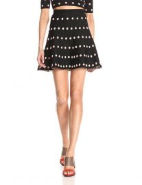 Amazoncom BCBGMAXAZRIA Womenand39s Gloriah Jacquard Skirt  at Amazon