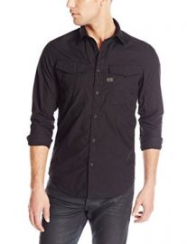 Amazoncom G-Star Menand39s Rovic Long-Sleeve Button-Front Shirt Clothing at Amazon