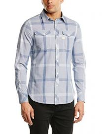 Amazoncom G-Star Raw Menand39s Landoh Clean Long Sleeve Shirt with Pockets Clothing at Amazon