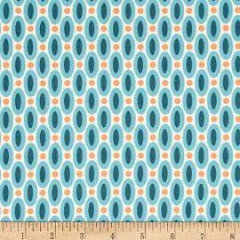 Amazoncom Joel Dewberry Flora Abacus Eucalyptus Fabric at Amazon