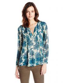 Amazoncom Joie Womenand39s Cantoria Botanical Long-Sleeve Silk Blouse Clothing at Amazon