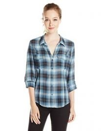 Amazoncom Joie Womenand39s Lynn Plaid Shirt Clothing at Amazon
