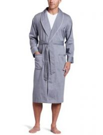 Amazoncom Nautica Menand39s Captains Woven Robe Clothing at Amazon