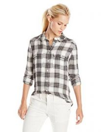 Amazoncom PAIGE Womenand39s Trudy Shirt Clothing at Amazon