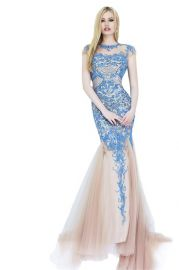 Amazoncom Sherri Hill 1939 Dress in Blue at Amazon