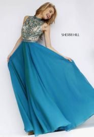 Amazoncom Sherri Hill 1964 Green at Amazon