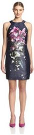 Amazoncom Ted Baker Womenand39s Therese Floral Shift Dress Clothing at Amazon