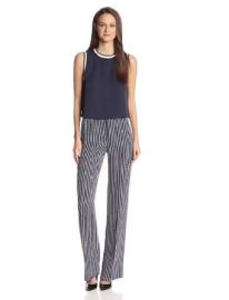 Amazoncom Theory Womenand39s Pajeema Main Stripe Pant Clothing at Amazon