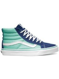 Amazoncom Vans Unisex Sk8-Hi Slim 2 Tone Sneakers Shoes at Amazon
