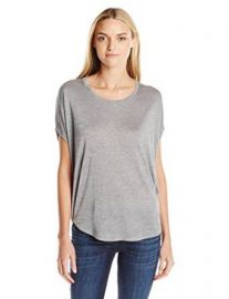 Amazoncom Vince Womenand39s Rayon Mouline Circle Tee Clothing at Amazon
