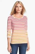 Amber Sun Ombre Stripe tee at Nordstrom