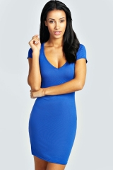 Amelia Sweetheart dress at Boohoo