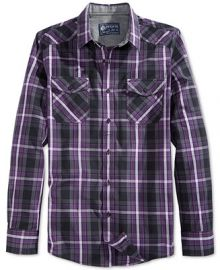 American Rag Entrekin Plaid Shirt at Macys