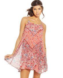American Rag Floral-Print Trapeze Dress at Macys