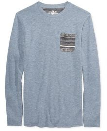 American Rag Men s Pocket Thermal Shirt  Created for Macy s at Macys